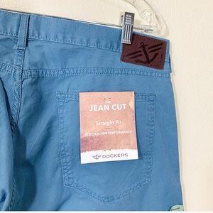 Dockers Pants - Dockers blue straight fit Jean cut  men's pants